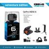 (Paket Adventure) GoPro HERO 6 Black Action Camera dgn Full Aksesoris