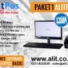 Paket Komputer Kasir AlitPOS (Monitor, Keyboard, Printer)