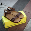 Sandal Pria Gesper Tali Coklat dan Hitam Original Brand GDNS GROOVE