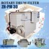 Aquarium Rotary Drum Filter ZH-PM 30 FlowRate 0-30 M3/Jam, V=380, 730W