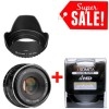 MEIKE 35MM F1.7 APS-C FOR CANON EOS M + Filter UV + Lenshood
