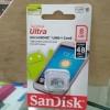 MICRO SD SANDISK ULTRA 8GB - ORIGINAL CLASS 10 - MEMORI CARD 8 GB