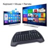 Keyboard Wireless Mini dengan Touch pad T16 mouse