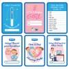 Sensitif Milestone Pregnancy Card   Kartu Kehamilan
