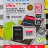 Microsd Ori Sandisk Ultra Class 10 Adapter 64Gb Memory Card MMC 64 Gb