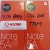 XIAOMI REDMI NOTE 5A RAM 2/16GB GARANSI RESMI TAM