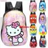 Tas Anak Kartun / Tas PVC / Tas Sekolah Hello Kitty/Frozen/Minion