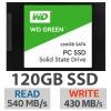 SSD WD Green 120GB SATA3 6GB/s