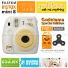 Fujifilm Instax Mini 8 Kamera Polaroid Instant Gudetama Free Film