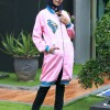 Jaket Muslimah HIJABER BUTTERFLY PINK HIJACKET