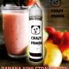 Crazy Panda Banana Kiwi Strawberry  FRK  60ml 3mg Liquid Vape Lokal