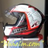 helm INK CL MAX #3 WHITE/FIRE RED/RED FLUO
