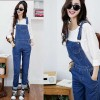 Overall Celana Kodok Washed Jeans