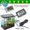 Promo ! Digital Thermometer Pengukur suhu aquarium with Probe Length