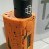 Tesla WYE 200W TC Box Mod Vape Authentic Orange