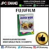 PAPER FILM INSTAX MINI WIDE SINGLE PACK (10 SHEETS)