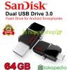 FlashDisk Sandisk Ultra USB Drive 3.0 OTG 64GB