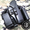 Blackhawk CQC glock holster G17 with mag pouch