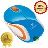 Logitech Mouse M187 Wireless Mini Biru Original