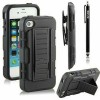 IPHONE 4 4S FUTURE ARMOR WITH HOLSTER CLIP CASE ( Dual Layer Case )