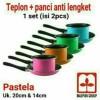 Maspion Milkpan 14cm + frypan 20cm pastela set