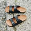 Sandal Pria Navara Almo Black   Sandal Pria Santai   Sandal handmade