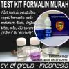 Test Kit Formalin (Formaldehyde) Murah