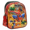 Tas Ransel TK Marvel Spiderman 5D Timbul Hologram IMPORT + Lunch Bag S