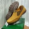 Sepatu Gats Original Casual Pria Slip Kulit Asli Terbaru Tan TO 2205
