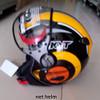 helm kyt elsico#1 black/orange