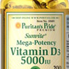 VITAMIN D3 5000 IU 200 Softgels IMPOR