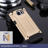 Samsung Galaxy S7 Flat | Spigen Iron Rugged Slim Armor Hard Case