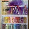 ATK0317PT isi 50 PENTEL PHN 50 Oil Pastel Art 49 warna crayones art