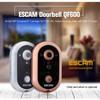 ESCAM Doorbell QF600 WiFi Mini IP Camera Surveillance CCTV bel pintu