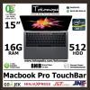 [CEPAT] Macbook Pro TouchBar MLH42 2016 15