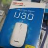 TOSHIBA U30 WITH BLUE LED USB OPTICAL MOUSE