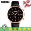 Jam Tangan Pria SKMEI Casual Men Leather Strap Original 9117CL