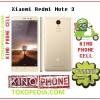 Redmi Note 3 Ram 2gb  - rom 16 4g Octa core