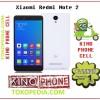 Xiaomi Redminote 2 2/16GB Garansi distributor platinum