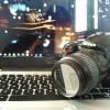 DSLR Nikon D3000 + Lensa 18-55mm