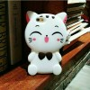 Case Oppo Neo 7 Neo7 / Softcase Casing Cover Silikon 3D Kucing