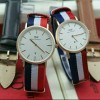 Jam Tangan Couple DW Couple 378 Kanvas Leather