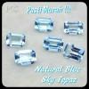 PASTI MURAH !!! NATURAL BATU PERMATA BLUE SKY TOPAZ CUTTIN Berkuali