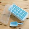 132 Ice Box 3in1 cetakan/kotak es batu 18sekat, bonus serokan
