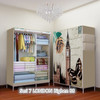 07 LONDAN BIG BEN Multifunction Wardrobe with cover lemari pakaian