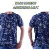 Baju - Kaos - Tshirt - Loreng - Navy - Angkatan Laut - Tangan Pendek