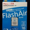 Toshiba Flash Air Wireless Card 16GB