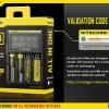 Digital Charger Nitecore D4 Original Dengan Kode Validasi