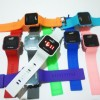Jam Led rubber warna-486