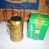 lampu camping (powerbank,senter,solar cell) 1W+12leds-487